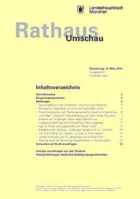 Rathaus Umschau 47 / 2016