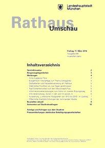 Rathaus Umschau 48 / 2016