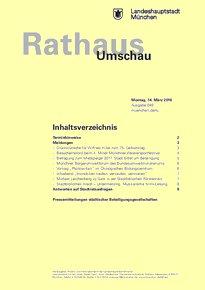 Rathaus Umschau 49 / 2016