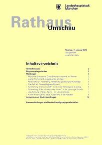 Rathaus Umschau 5 / 2016