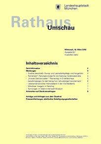 Rathaus Umschau 51 / 2016
