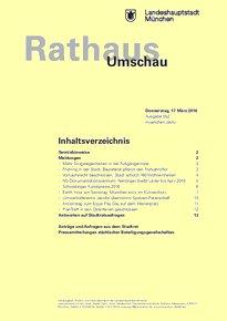 Rathaus Umschau 52 / 2016