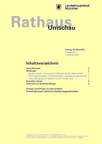 Rathaus Umschau 53 / 2016