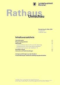 Rathaus Umschau 57 / 2016