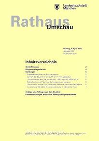 Rathaus Umschau 62 / 2016