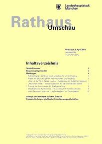 Rathaus Umschau 64 / 2016