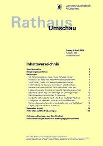 Rathaus Umschau 66 / 2016