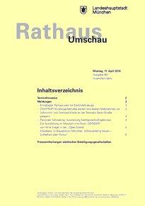 Rathaus Umschau 67 / 2016