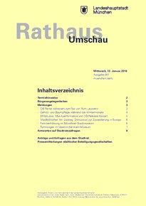 Rathaus Umschau 7 / 2016