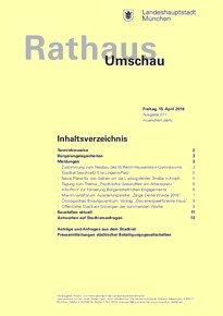 Rathaus Umschau 71 / 2016