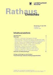 Rathaus Umschau 75 / 2016
