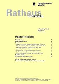 Rathaus Umschau 76 / 2016