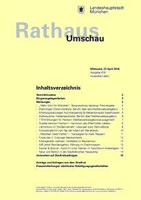 Rathaus Umschau 79 / 2016