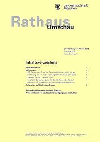 Rathaus Umschau 8 / 2016