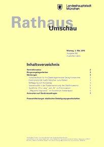 Rathaus Umschau 82 / 2016
