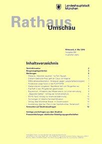 Rathaus Umschau 84 / 2016