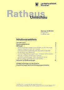 Rathaus Umschau 87 / 2016