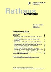 Rathaus Umschau 88 / 2016