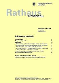 Rathaus Umschau 89 / 2016