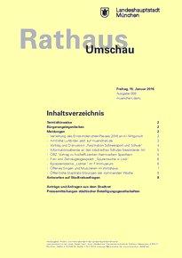 Rathaus Umschau 9 / 2016