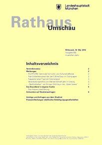 Rathaus Umschau 92 / 2016