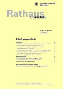 Rathaus Umschau 94 / 2016