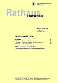 Rathaus Umschau 95 / 2016