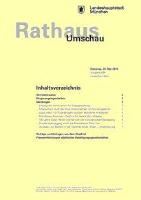Rathaus Umschau 96 / 2016