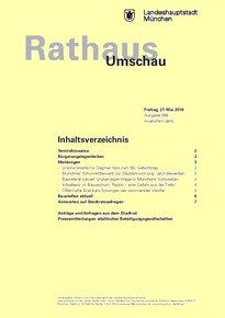 Rathaus Umschau 98 / 2016