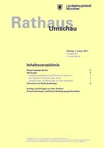 Rathaus Umschau 1 / 2017