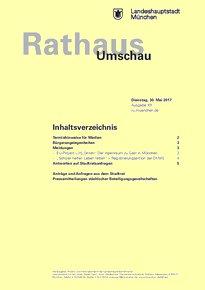 Rathaus Umschau 101 / 2017
