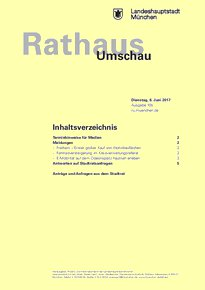 Rathaus Umschau 105 / 2017
