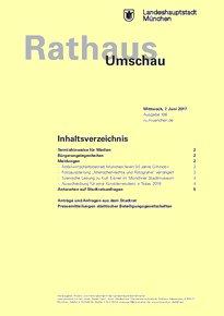 Rathaus Umschau 106 / 2017