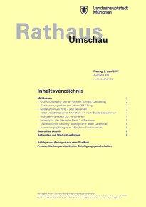Rathaus Umschau 108 / 2017