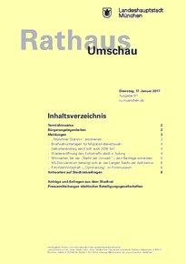 Rathaus Umschau 11 / 2017