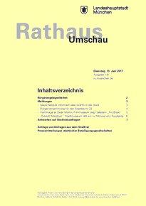 Rathaus Umschau 110 / 2017