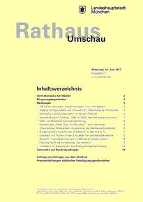 Rathaus Umschau 111 / 2017