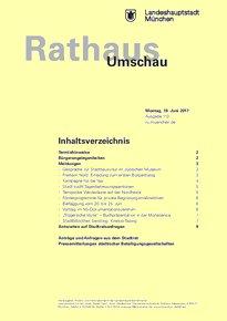 Rathaus Umschau 113 / 2017