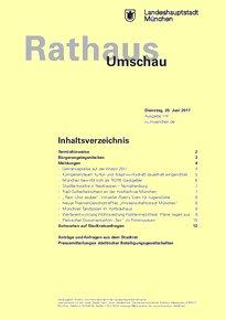 Rathaus Umschau 114 / 2017