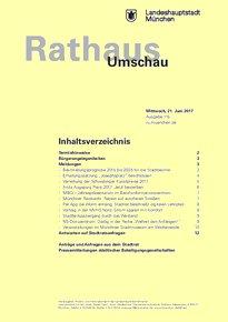 Rathaus Umschau 115 / 2017