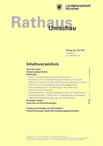 Rathaus Umschau 117 / 2017