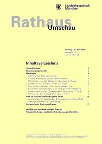 Rathaus Umschau 118 / 2017