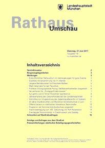 Rathaus Umschau 119 / 2017