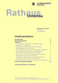 Rathaus Umschau 120 / 2017