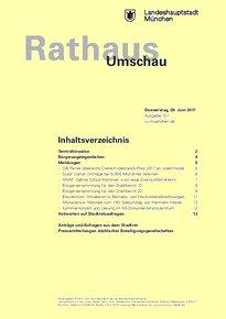 Rathaus Umschau 121 / 2017