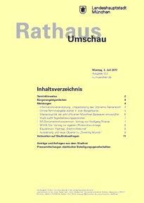 Rathaus Umschau 123 / 2017