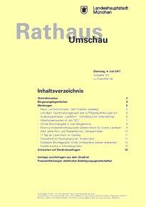 Rathaus Umschau 124 / 2017