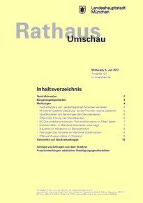 Rathaus Umschau 125 / 2017