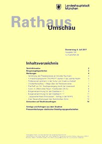 Rathaus Umschau 126 / 2017