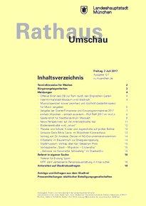 Rathaus Umschau 127 / 2017